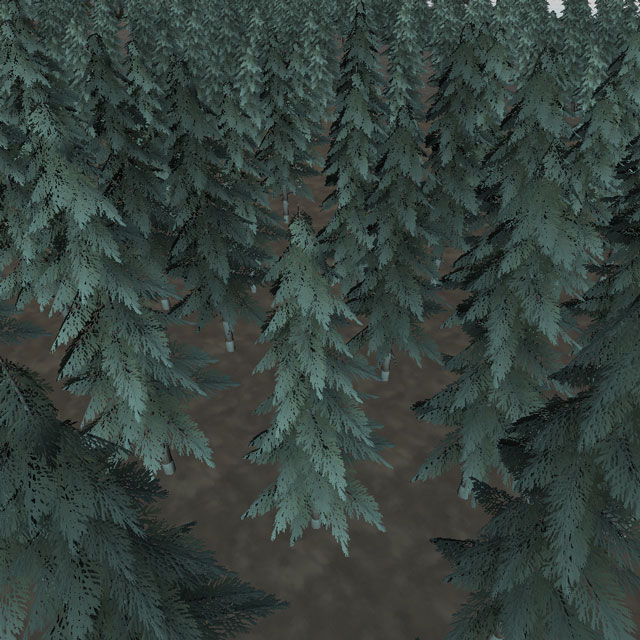 Broken trees - Normals and shader wrong