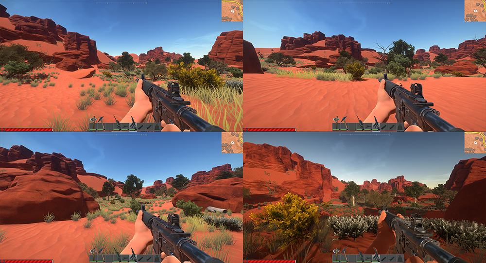 Australian Desert Pallete - High Vegetation_Fordevblog