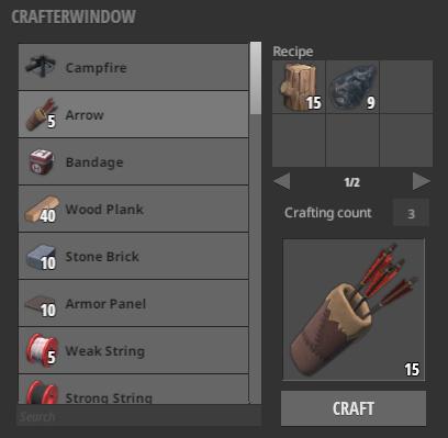 CraftingCount
