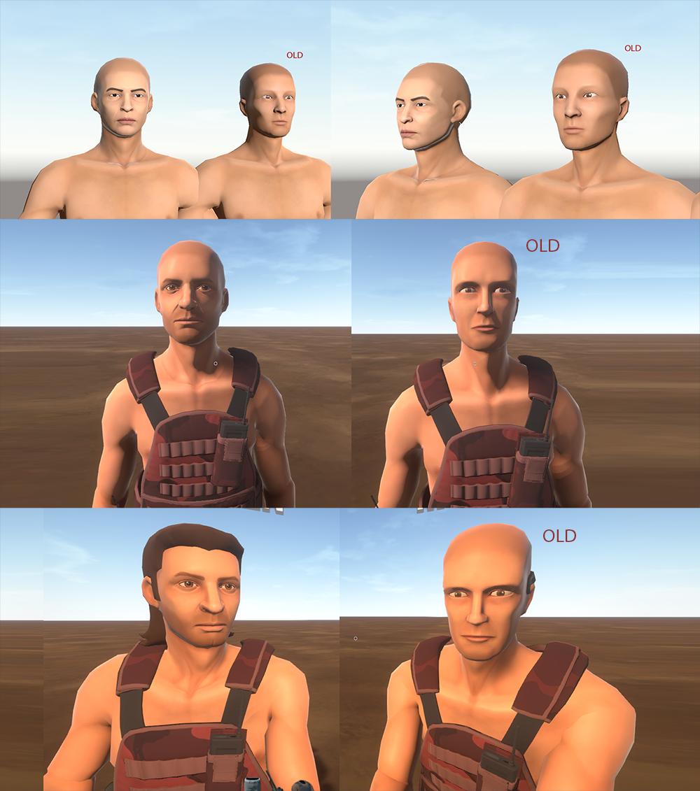 Face Updates